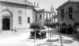 Fotografia Plaça Església Ramon Tarrida