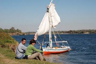 Cristina i Siscu al Nil