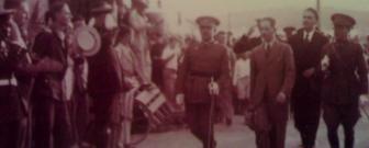 Companys amb Francisco Franco al 1933
