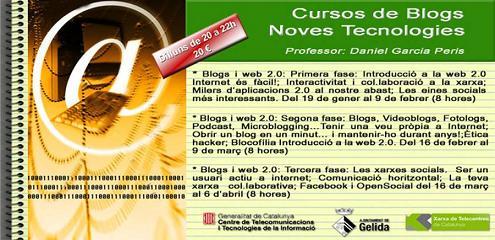 Cursos Blogs Gener Ajuntament de Gelida