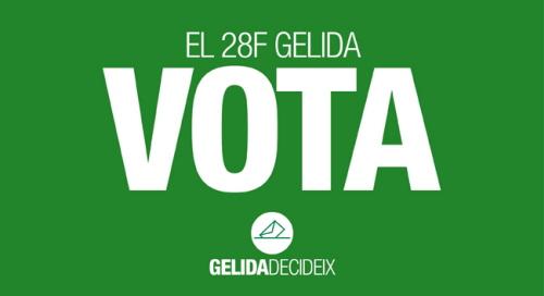 El 28F Gelida Vota